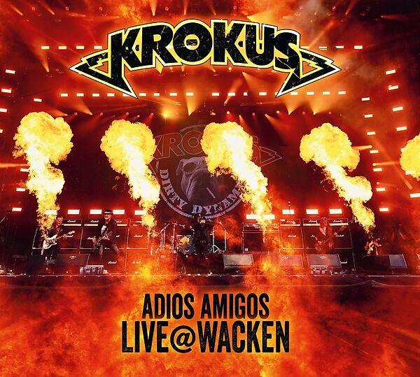 Adios Amigos Live @ Wacken (cd&Dvd)