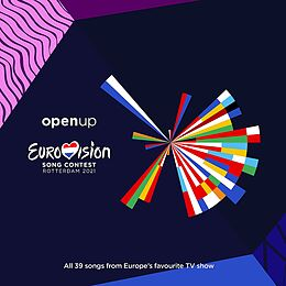 Various Artists CD Eurovision Song Contest - Rotterdam 2021