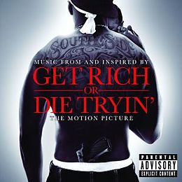 get rich or die tryin 39 the original motion pictur 50 cent various artists cd kaufen. Black Bedroom Furniture Sets. Home Design Ideas
