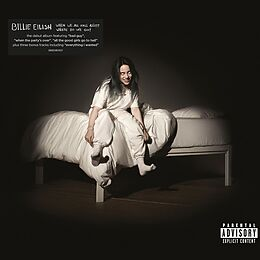 Eilish,Billie CD When We All Fall Asleep, Where Do We Go? Re-pack