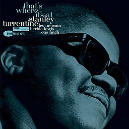 Turrentine,Stanley Vinyl Thats Where Its At (Tone Poet Vinyl)