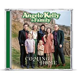 Kelly Angelo & Family CD Coming Home