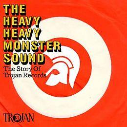 Diverse Reggae CD The Heavy Heavy Monster Sound - The Trojan Records