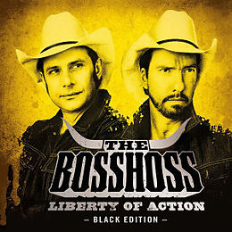 Bosshoss,The CD Liberty Of Action (black Edition)