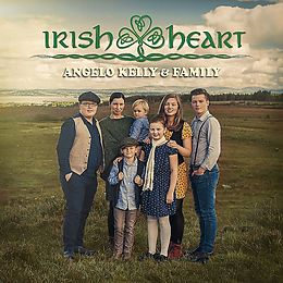 Kelly Angelo & Family CD Irish Heart (deluxe Edition)