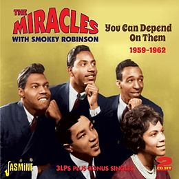 Miracles & Smokey Robinson CD You Can Depend On Them 1959-1962