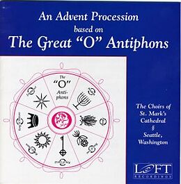 Hallock/Sherman/Saint Mark's C CD Advent Procession Based On 'O' Antiphons