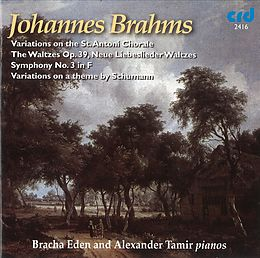 Brahms Works For 2 Pianos
