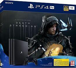 Sony Playstation 4 1TB PRO + Death Stranding [PS4] (D/F/I) als PlayStation 4-Spiel