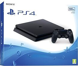 Sony PlayStation 4 Console Slim 500GB - black [PS4] (D/F/I) als PlayStation 4-Spiel