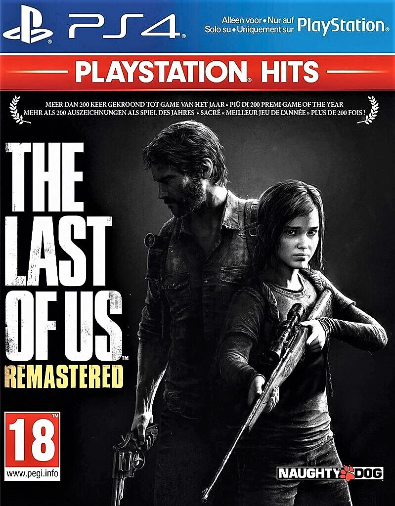 PlayStation Hits: The Last of Us - Remastered [PS4] (D/F/I)