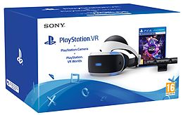 Playstation 4 VR Bundle: Headset + Camera + VR Worlds [PS4] (D/F/I) als PlayStation 4-Spiel