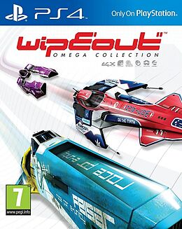 WipEout Omega Collection [PS4] (D/F/I) comme un jeu PlayStation 4