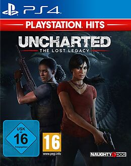 PlayStation Hits: Uncharted Lost Legacy [PS4] (D/F/I) als PlayStation 4-Spiel
