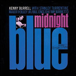 Burrell Kenny CD Midnight Blue Crudy Van Gelder