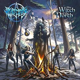 Burning Witches CD The Witch Of The North