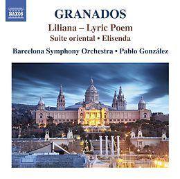 Gonzalez Pablo CD Orch Works 3: Liliana/elisenda
