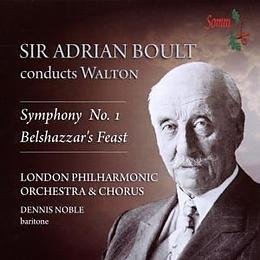 Adrian/London Philharmon Boult CD Sir Adrien Boult Conducts Walton