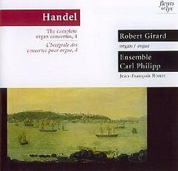 Robert Girard, Ensemble Carl Philippe CD Kompl.Orgelkonzerte Vol.4