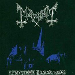 Mayhem Vinyl De Mysteriis Dom Sathanas