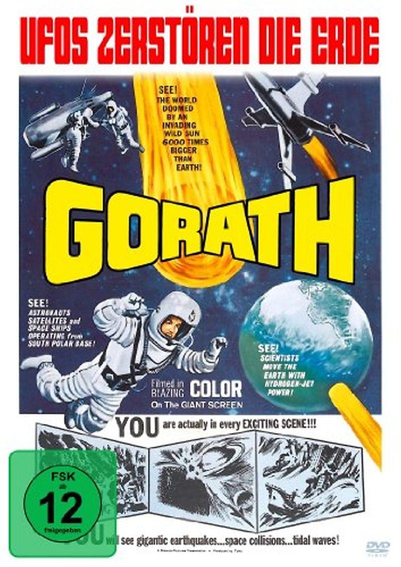 Gorath-Ufos Zerstören Die Erde [Versione tedesca]