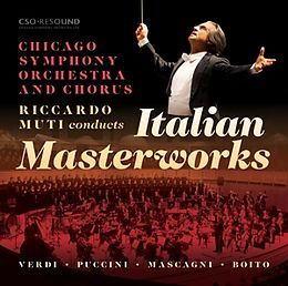 Riccardo/Chicago SO Muti CD Italian Masterworks