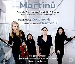 Double Concertos For Violin &