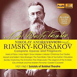 various CD Rimsky Korsakov. Sämtliche Opern 1946-1963 Bolshoi