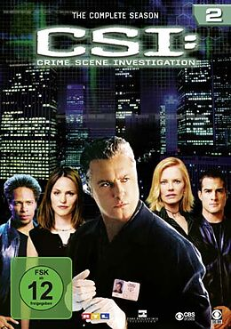 CSI: Crime Scene Investigation - Season 02 DVD
