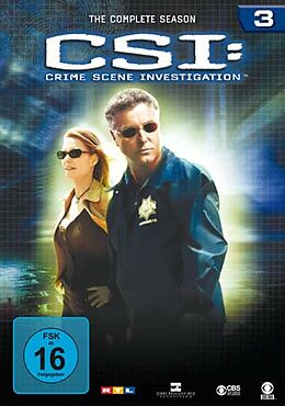 CSI: Crime Scene Investigation - Season 03 DVD