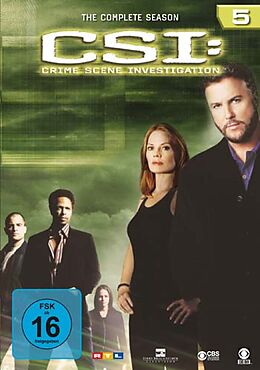 CSI: Crime Scene Investigation - Season 05 DVD