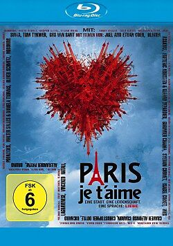 Paris je taime Blu-ray