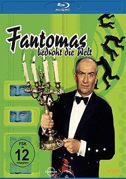 Fantomas bedroht die Welt - BR [Version allemande]