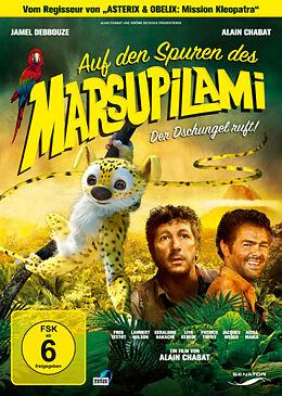 Auf den Spuren des Marsupilami DVD