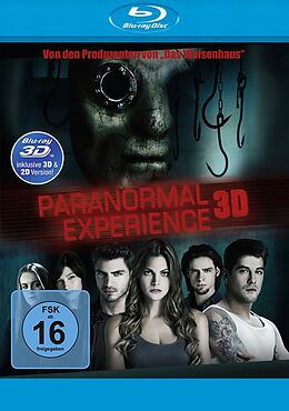Paranormal Experience 3D Blu-ray 3D