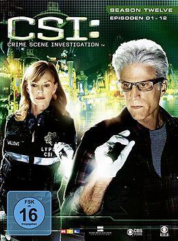 CSI: Crime Scene Investigation - Season 12 / Episoden 01-12 DVD