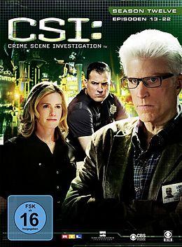 CSI: Crime Scene Investigation - Season 12 / Episoden 13-22 DVD