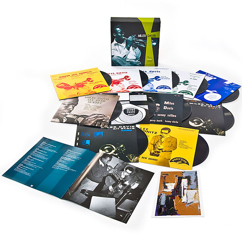 The Complete Prestige 10-Inch LP Collection