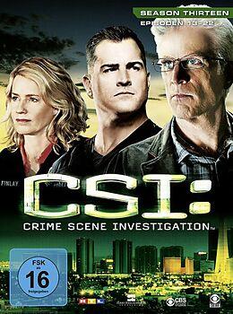 CSI: Crime Scene Investigation - Season 13 / Episoden 13-22 DVD