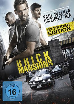 Brick Mansions DVD