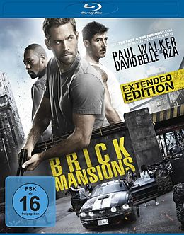 Brick Mansions - BR - Extended Edition Blu-ray