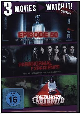 Episode 50 & Paranormal Experience & Schock Labyrinth DVD