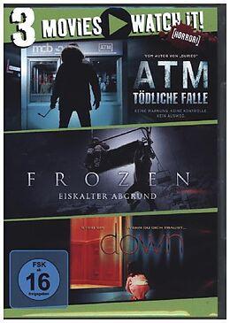 ATM - Tödliche Falle & Frozen - Eiskalter Abgrund & Down DVD