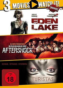 Eden Lake & Aftershock & Turistas DVD