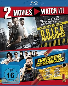 Brick Mansions & Gangster Chronicles Blu-ray