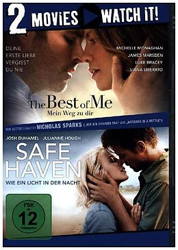 The Best of Me - Mein Weg zu dir & Safe Haven - Wie ein Licht in der Nacht DVD