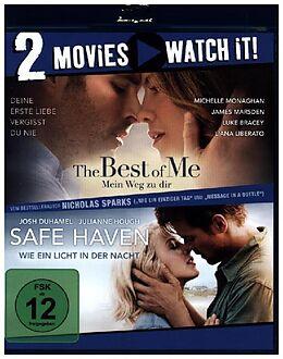 The Best of Me - Mein Weg zu dir & Safe Haven - Wie ein Licht in der Nacht Blu-ray