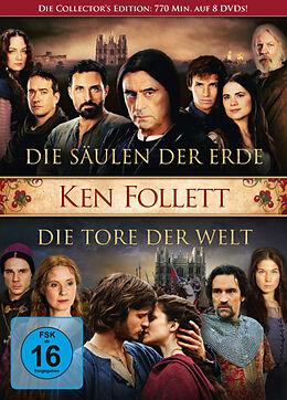 Die Säulen der Erde & Die Tore der Welt DVD