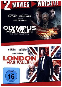 Olympus Has Fallen & London Has Fallen DVD