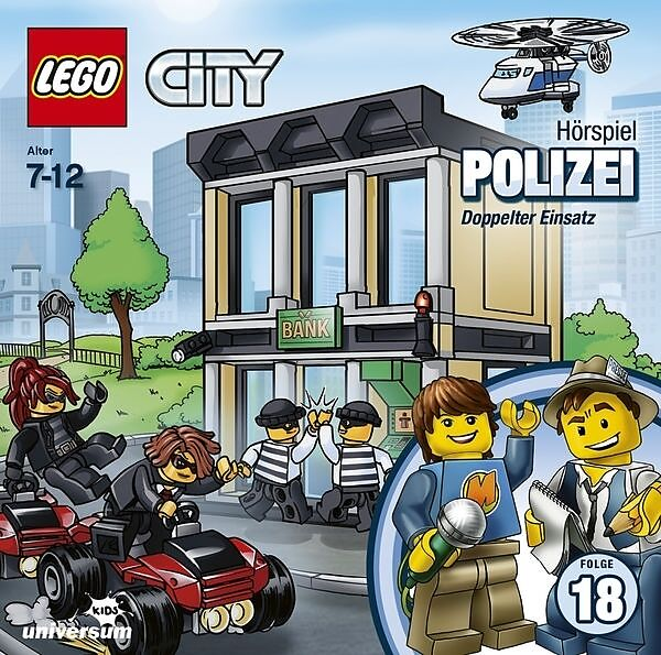 LEGO City Hörspiel - Polizei - Folge 18